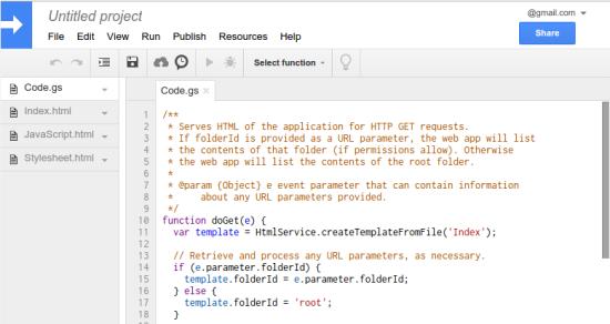 Apps Script Framework