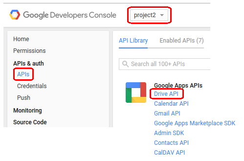 Working with google APIs | El blog del Barba